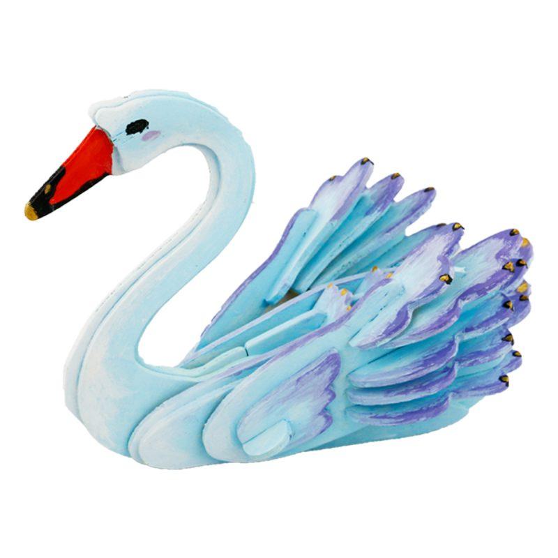 3D painting puzzle HC205 Swan