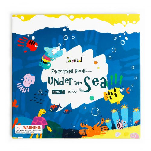 Fingerpaint Book TS721 Under The Sea