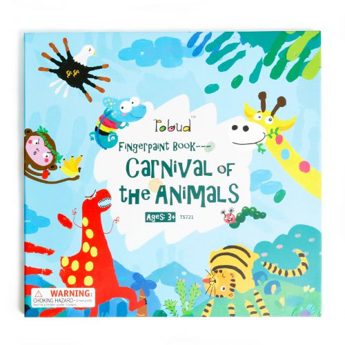 Fingerpaint Book TS722 Carnival Of The Animals