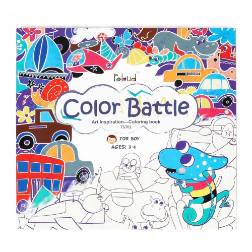 Coloring Book For Boys (3-4 yrs) TS701