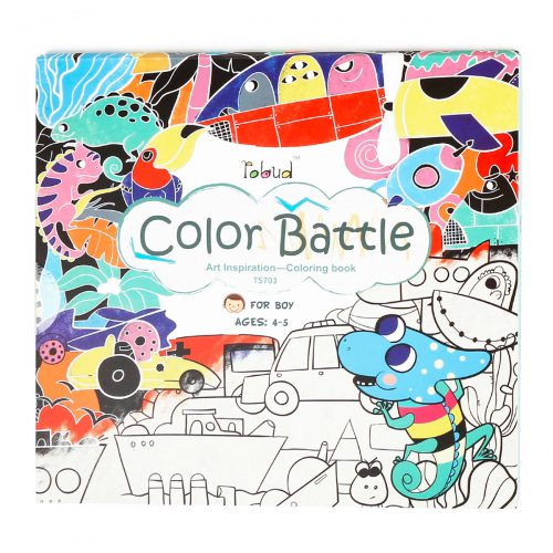 Coloring Book For Boys (4-5 yrs) TS703