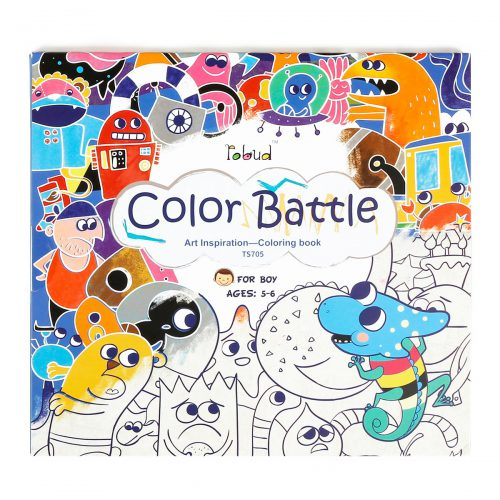 Coloring Book For Boys (5-6 yrs) TS705