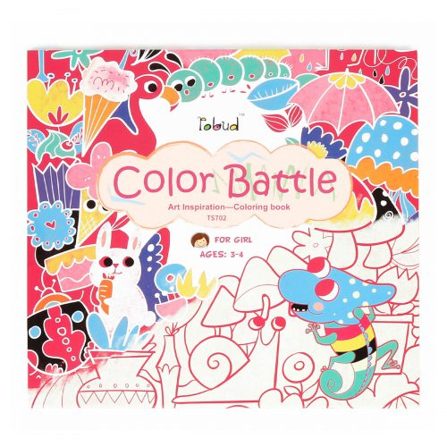 Coloring Book For Girls (3-4 yrs) TS702