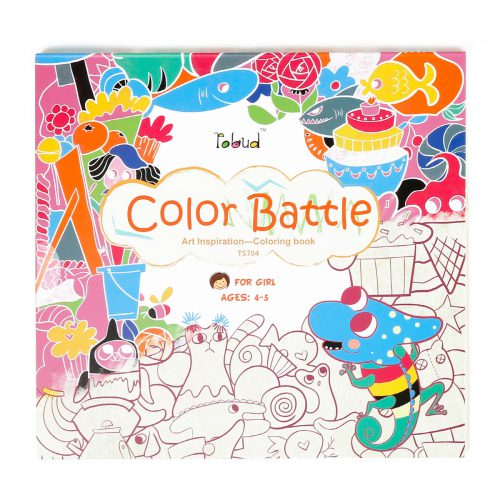 Coloring Book For Girls (4-5 yrs) TS704