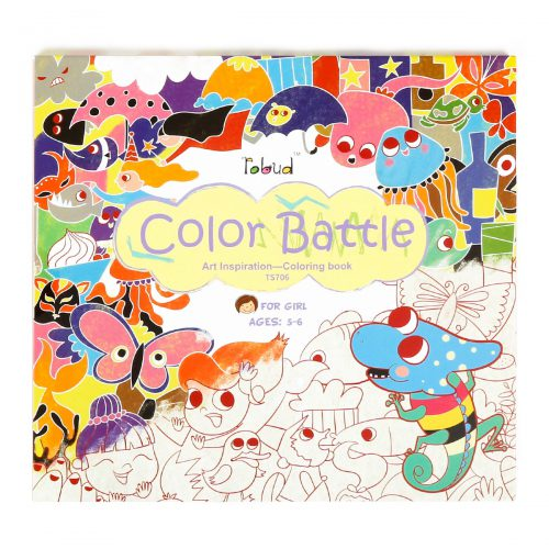 Coloring Book For Girls (5-6 yrs) TS706