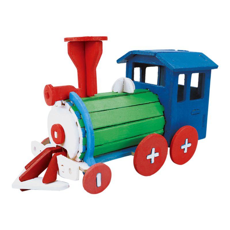 3D painting puzzle HC251 Locomotive