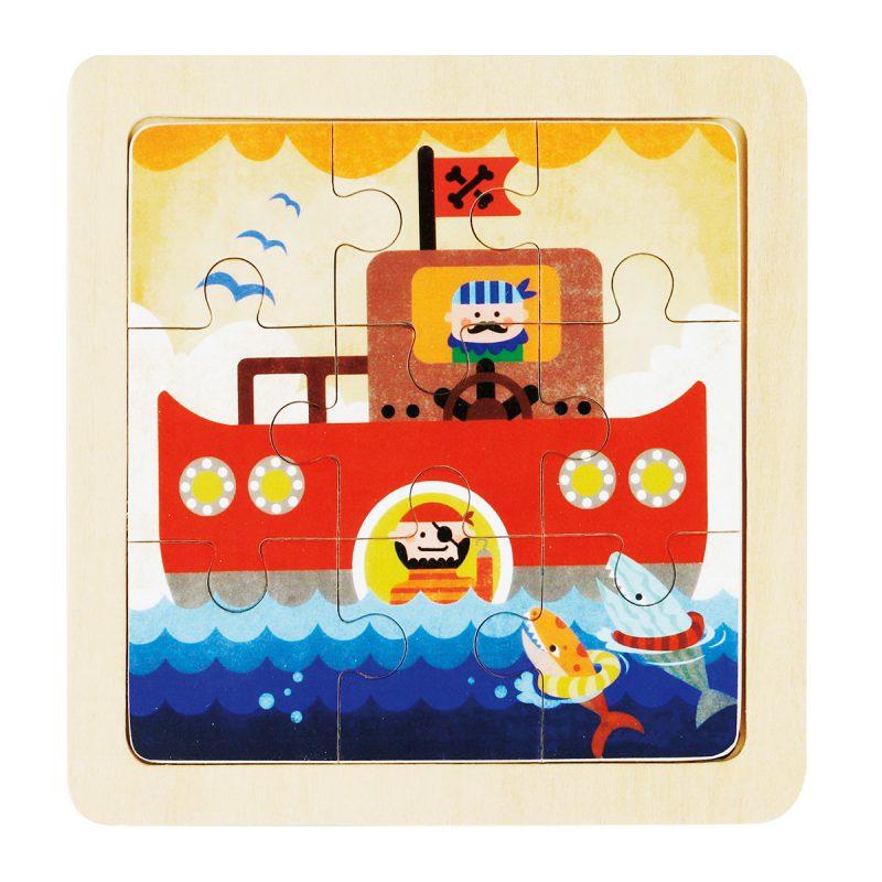 Jigsaw Puzzle 9pcs DY901 Oh Captain