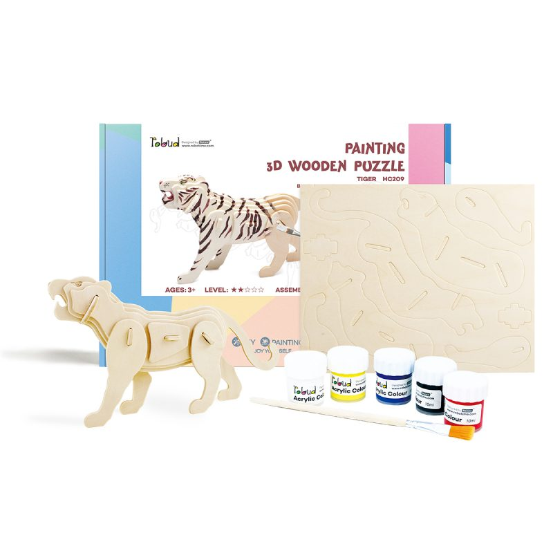 3D painting puzzle HC209 Tiger