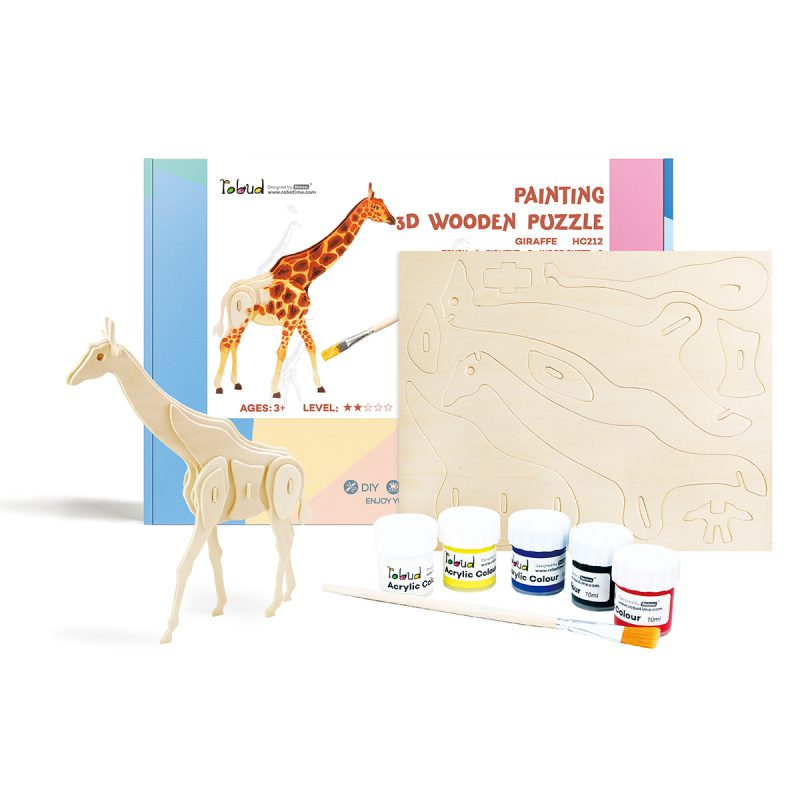 3D painting puzzle HC212 Giraffe