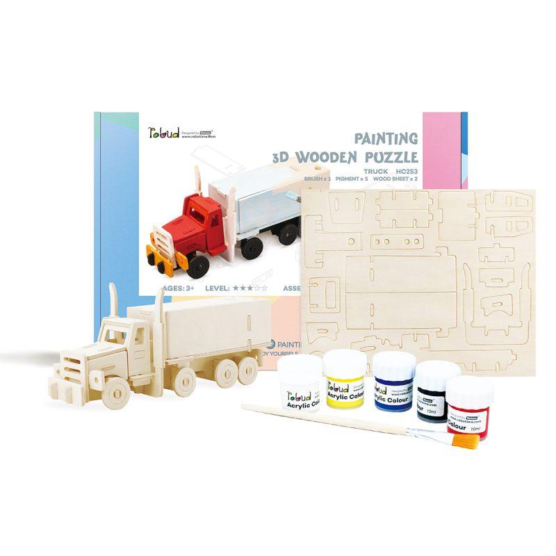 3D painting puzzle HC253 Truck