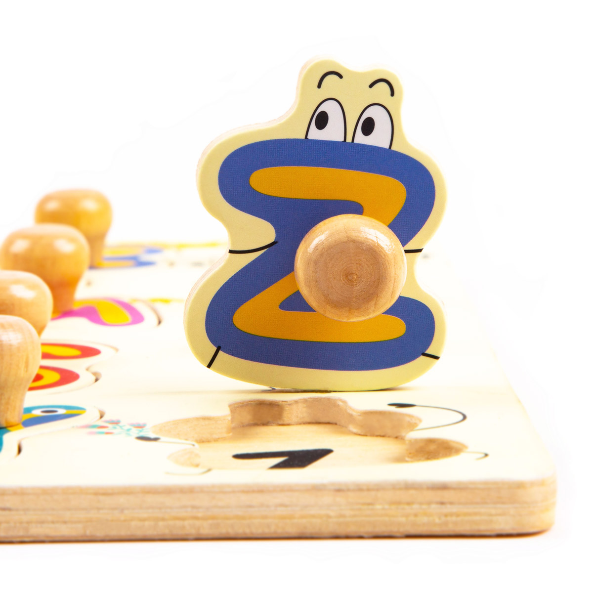 Peg Puzzle HP003 English 26-letter Game