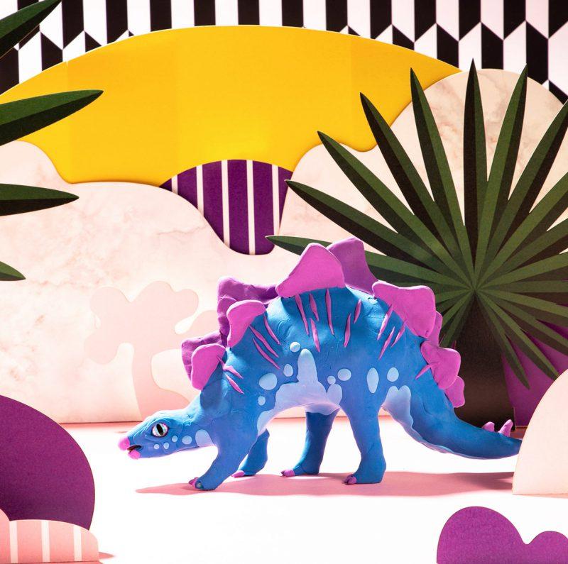 Modeling Clay / Dinosaur Park FY03 Stegosaurus