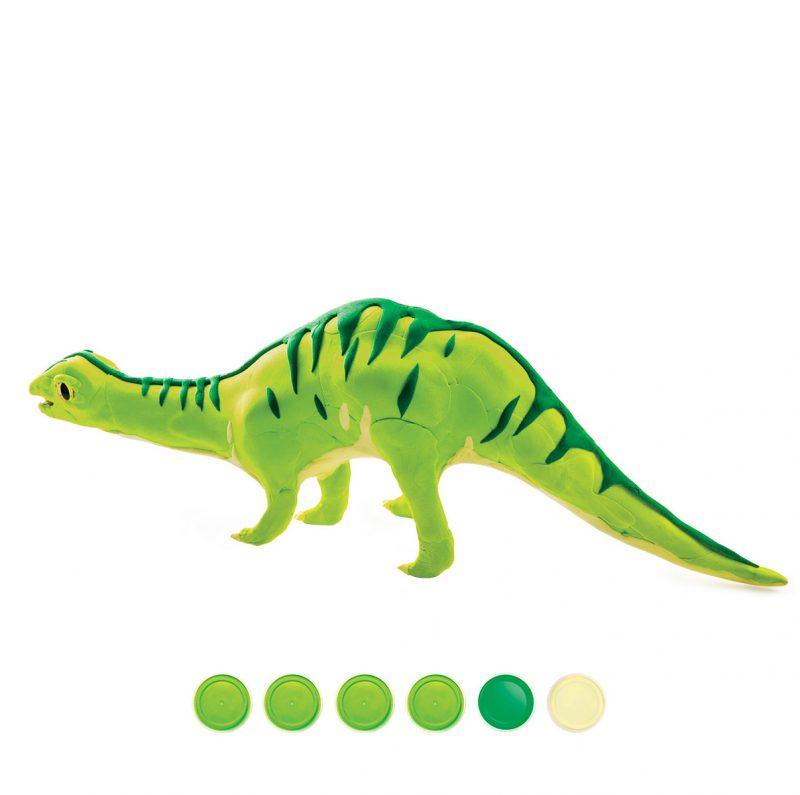 Modeling Clay / Dinosaur Park FY04 Brontosaurus