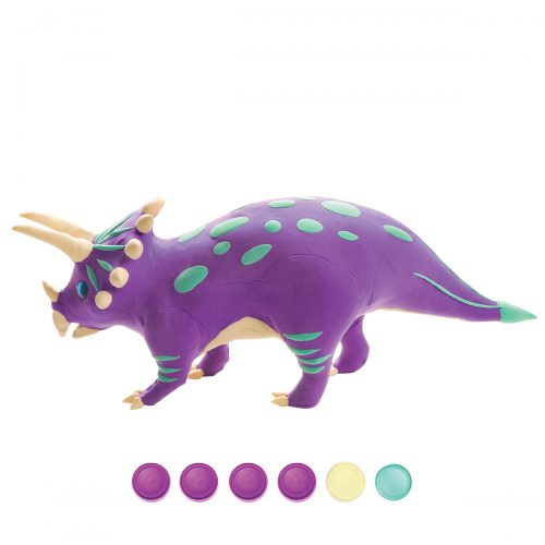 Modeling Clay / Dinosaur Park FY05 Triceratops