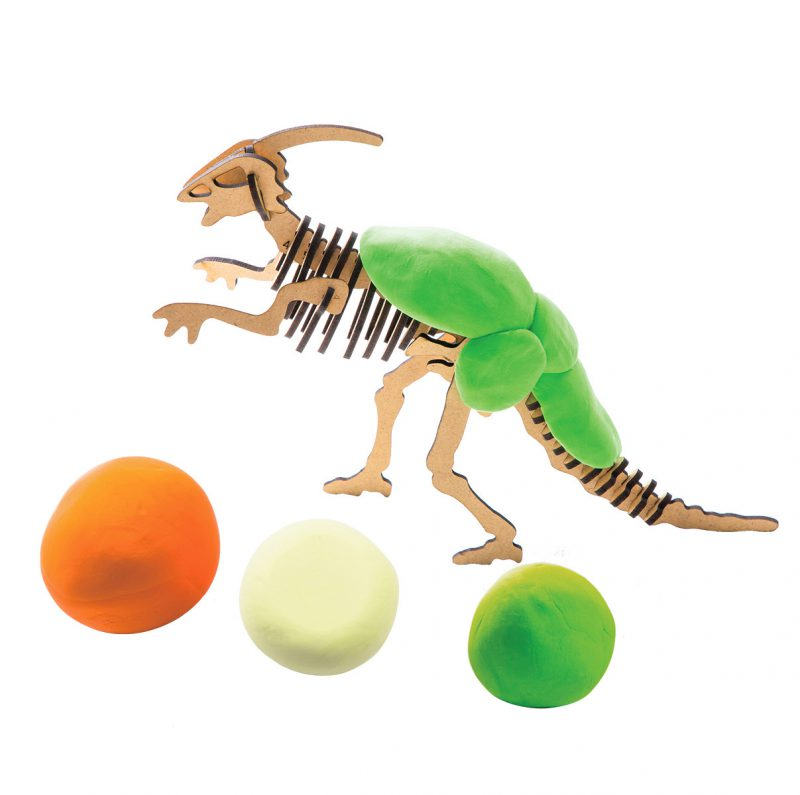 Modeling Clay / Dinosaur Park FY06 Parasaurolophus