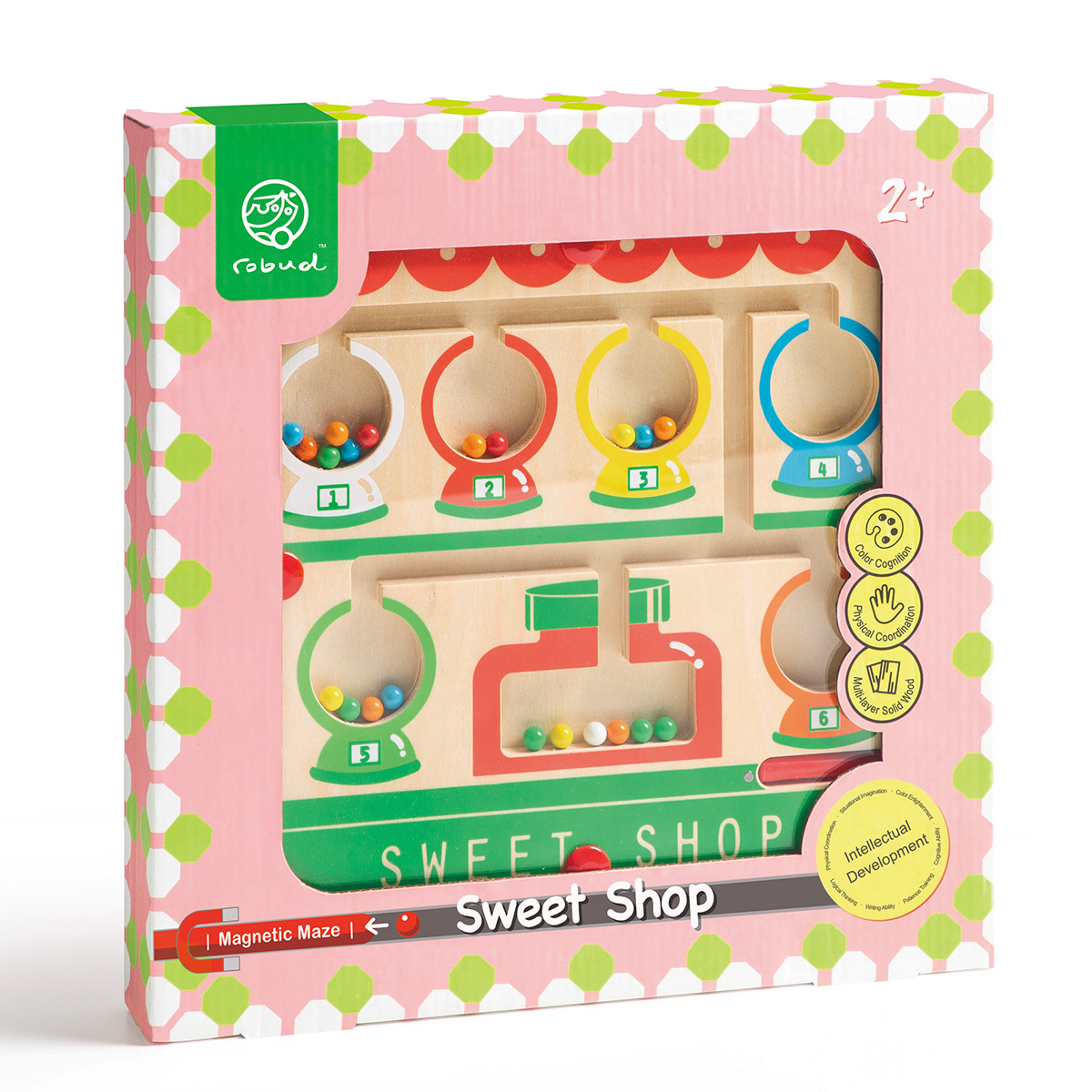 Magnetic Maze MM02 Colorful Candy House