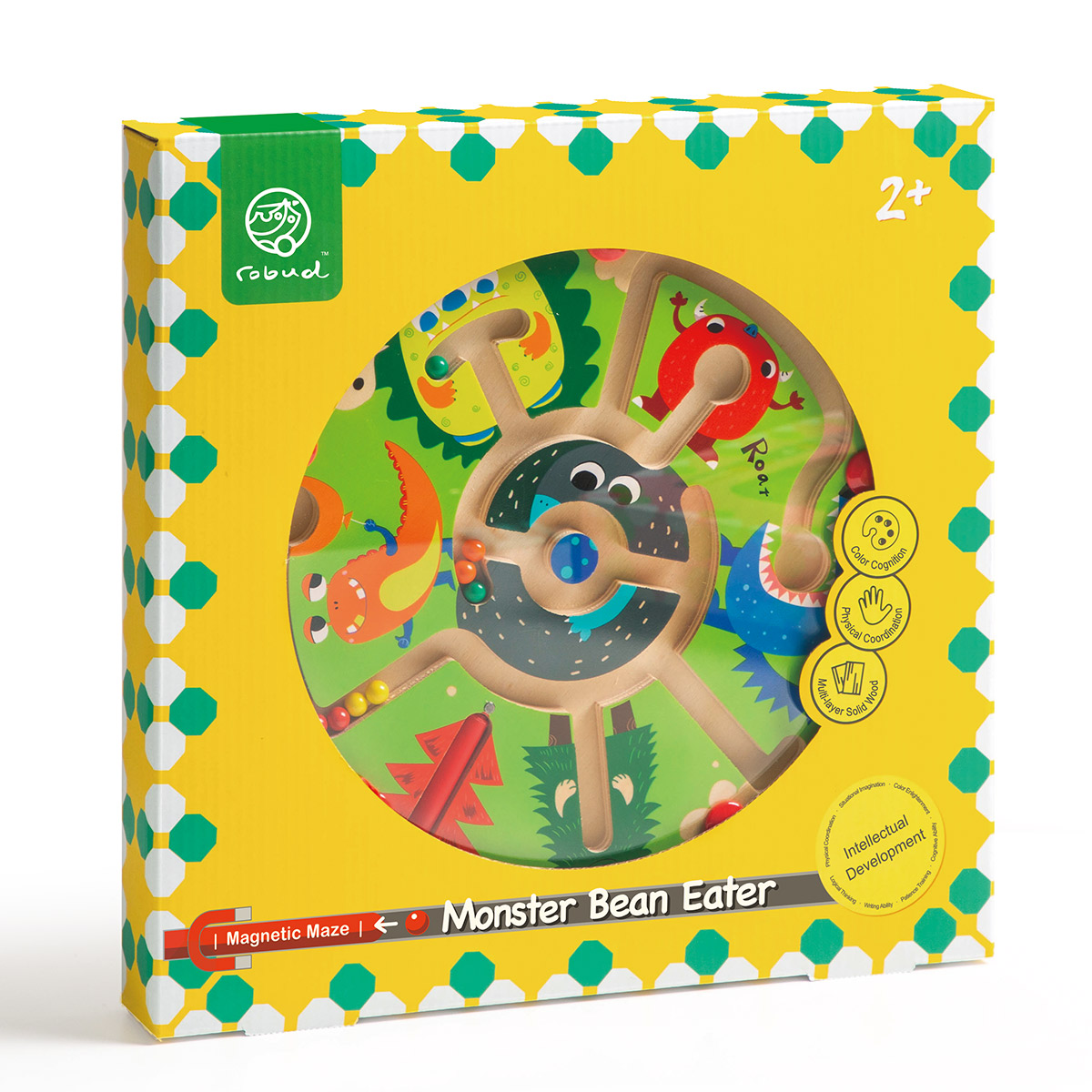 Magnetic Maze MM05 Monsters Eat beans