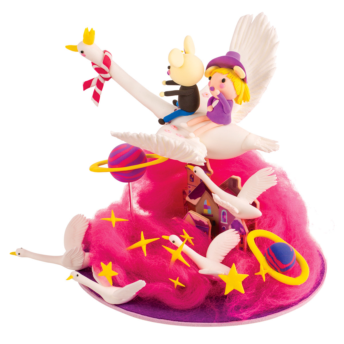 Modeling Clay / Imagination Set NT735 Star and Wishes