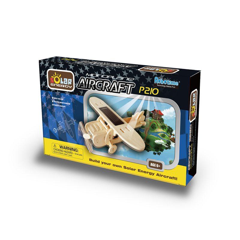 Aircrafts - Natural Wooden P210 Monoplane