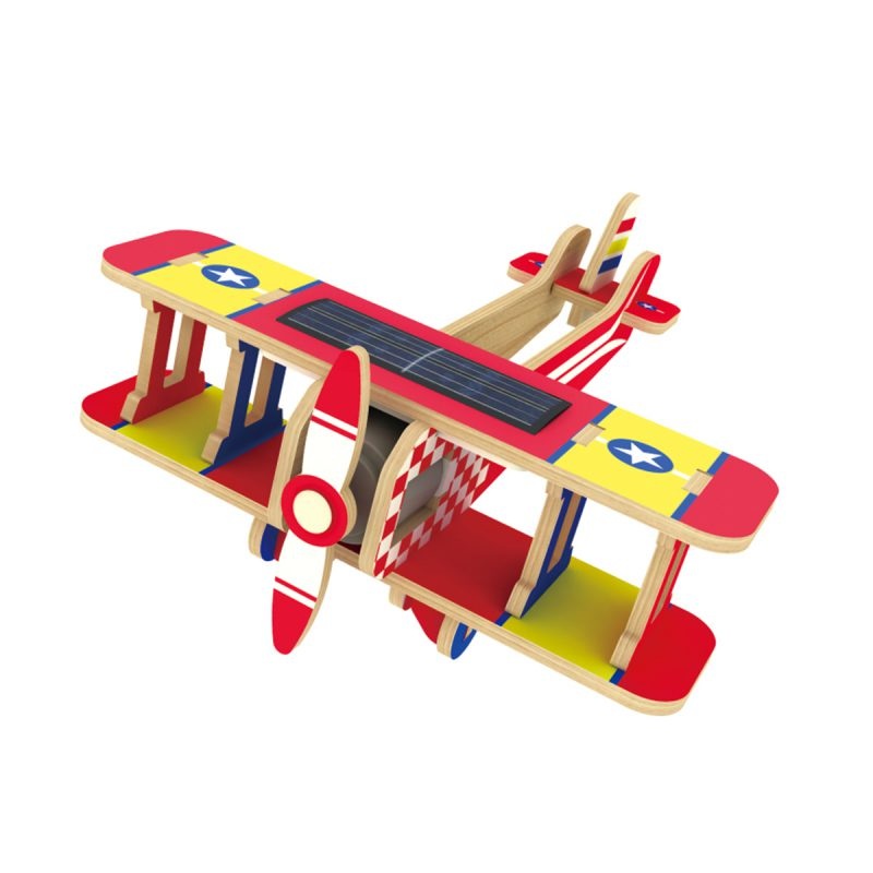 Aircrafts – Colorful Paper Coating P220S Biplane