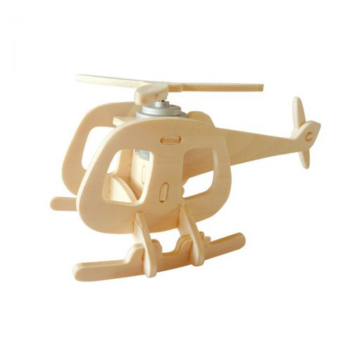 Aircrafts - Natural Wooden P240 Helicopter-B