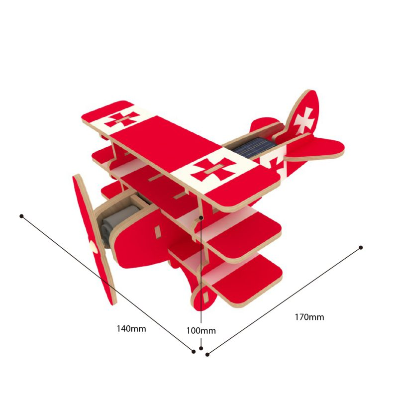 Aircrafts - Colorful Paper Coating P250S Triplane
