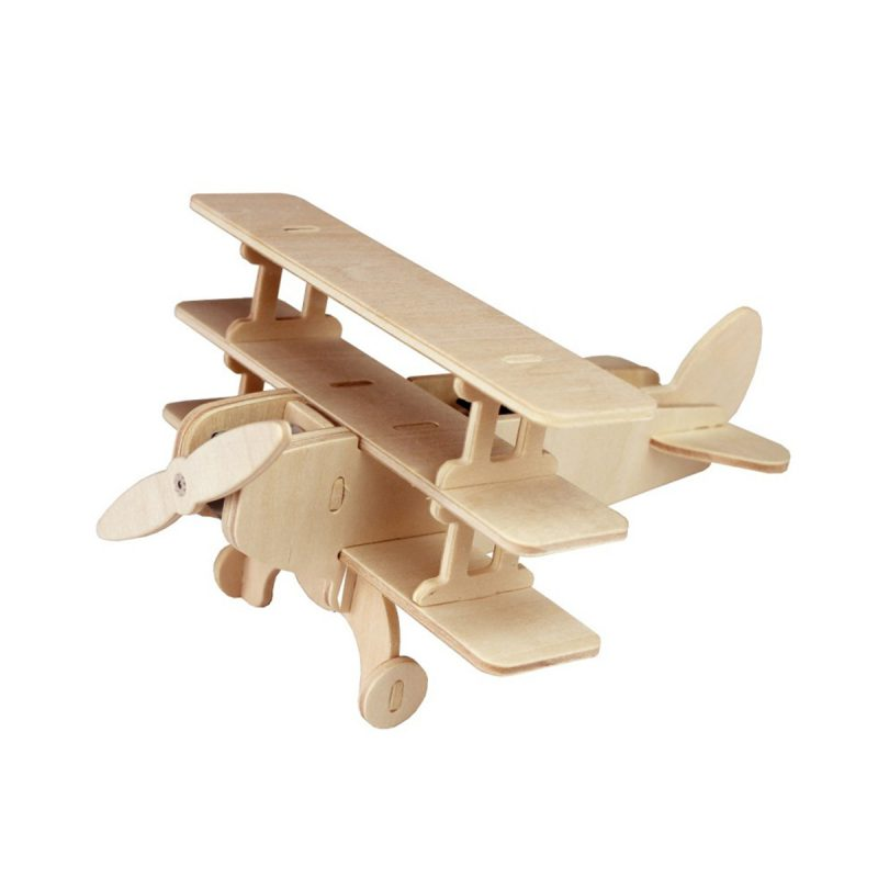 Aircrafts - Natural Wooden P250 Triplane
