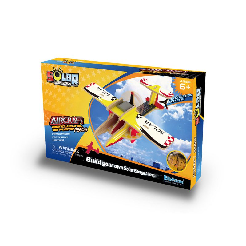 Aircrafts - Colorful Paper Coating P260S Agricultural Airplane
