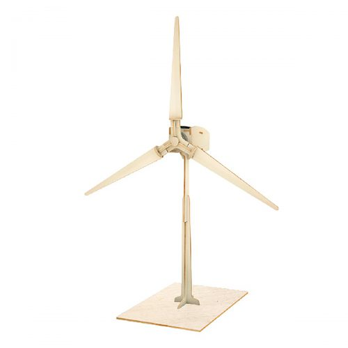 Windmills - Natural Wooden W100 Wind Turbine