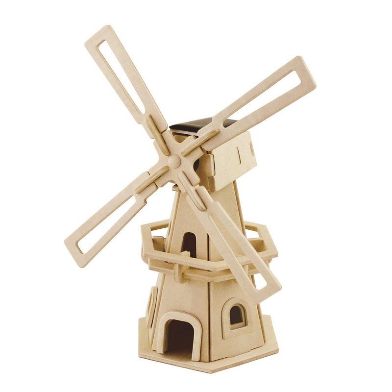 Windmills - Natural Wooden W110 Windmill-1