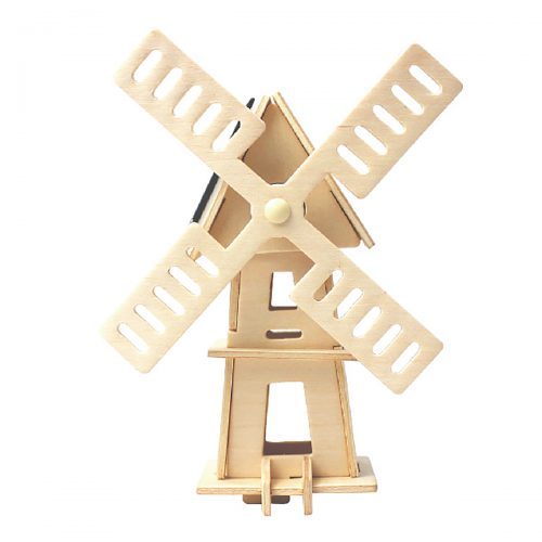 Windmills - Natural Wooden W120 Windmill-2