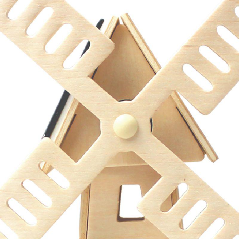 Windmills - Natural Wooden W120 Windmill-2