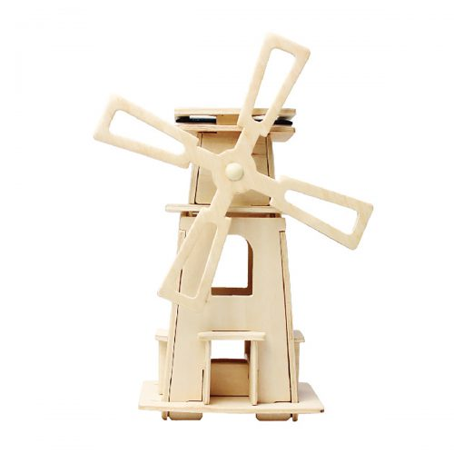 Windmills - Natural Wooden W130 Windmill-3