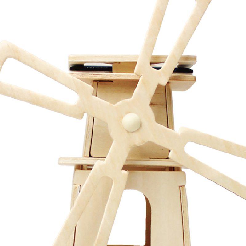 Windmills - Natural Wooden W130 Windmill-3