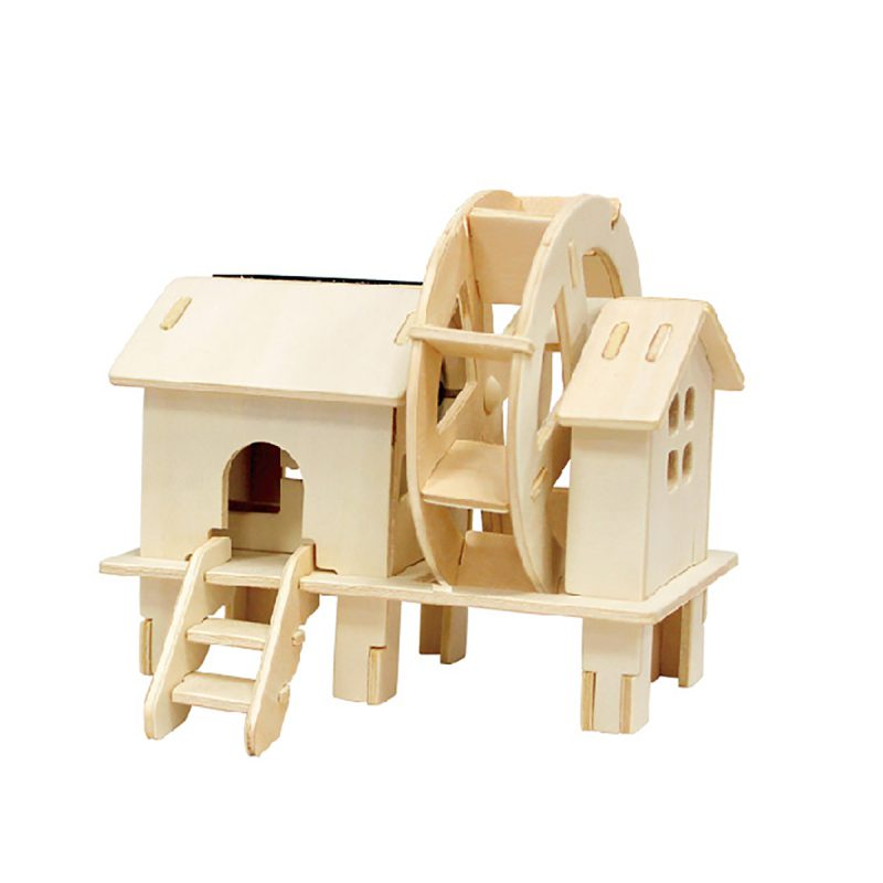 Windmills - Natural Wooden W150 Waterwheel