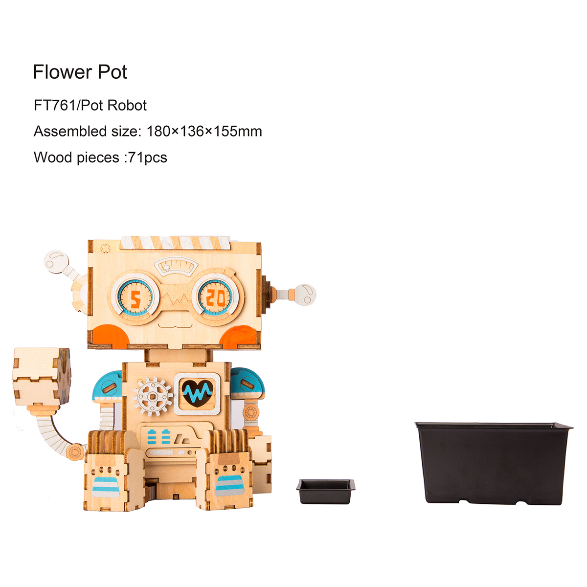 Pot Robot FT761