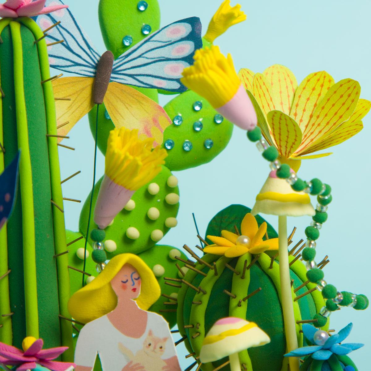 Cactus Girl DC03