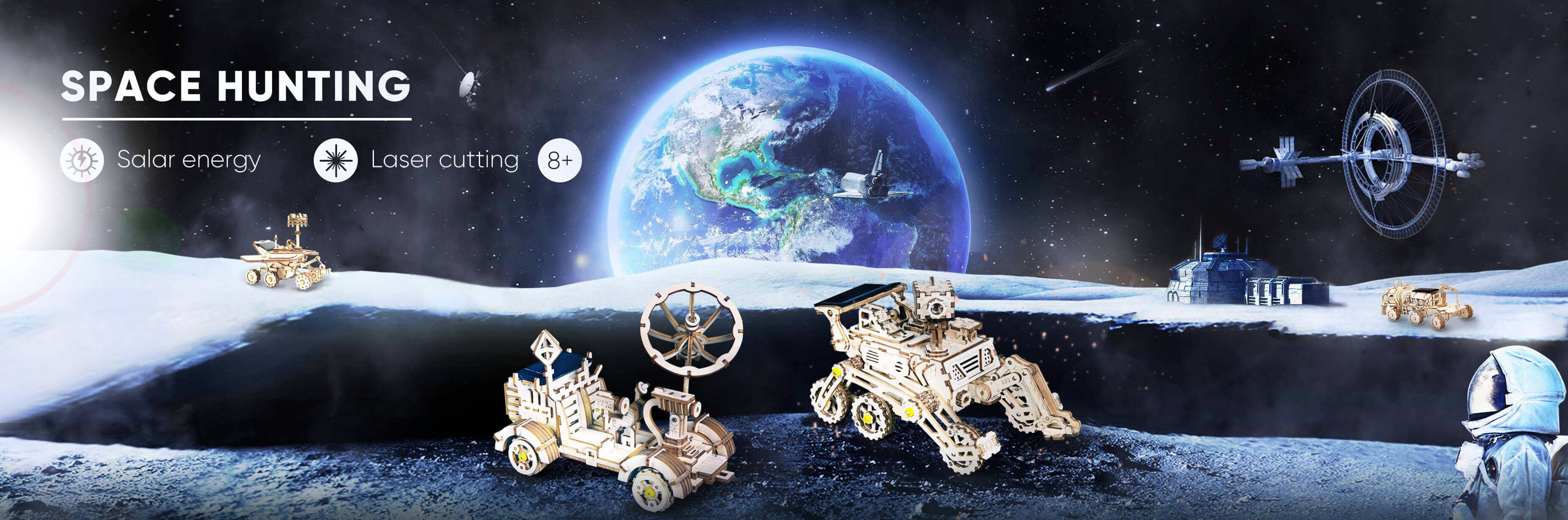 ROKR store - Mechanical 3D Puzzles, Wooden Model Toys