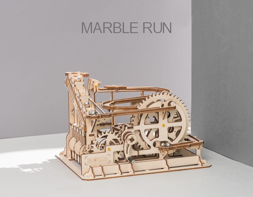 ROKR Marble Run building kits for kids and adults