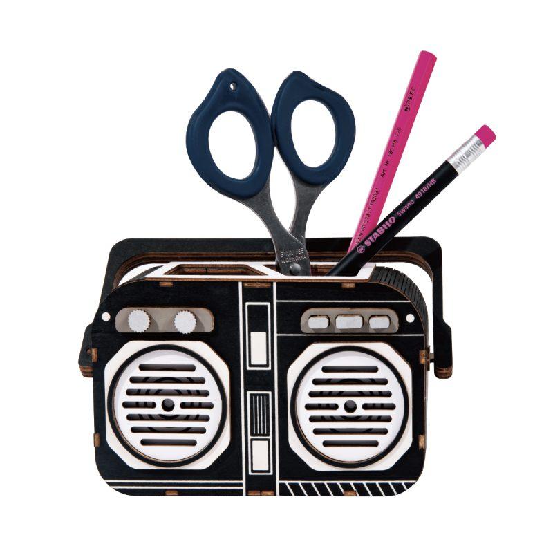 Music Time pen holder DIY organizer