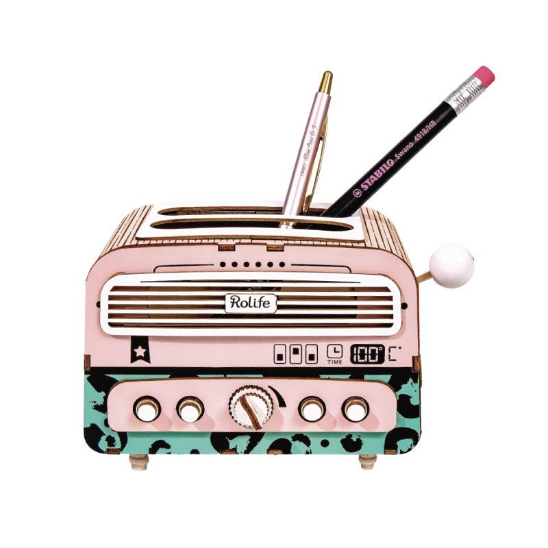 Toaster pen holder TG14 DIY desk organizer