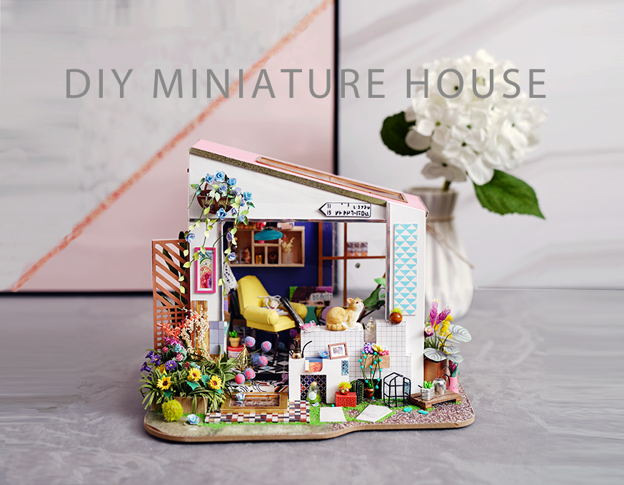 Rolife Miniature Dollhouse DG11 Lilys Porch