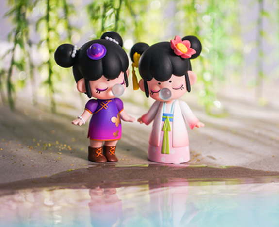 Rolife Nanci chinese beauty toy figures