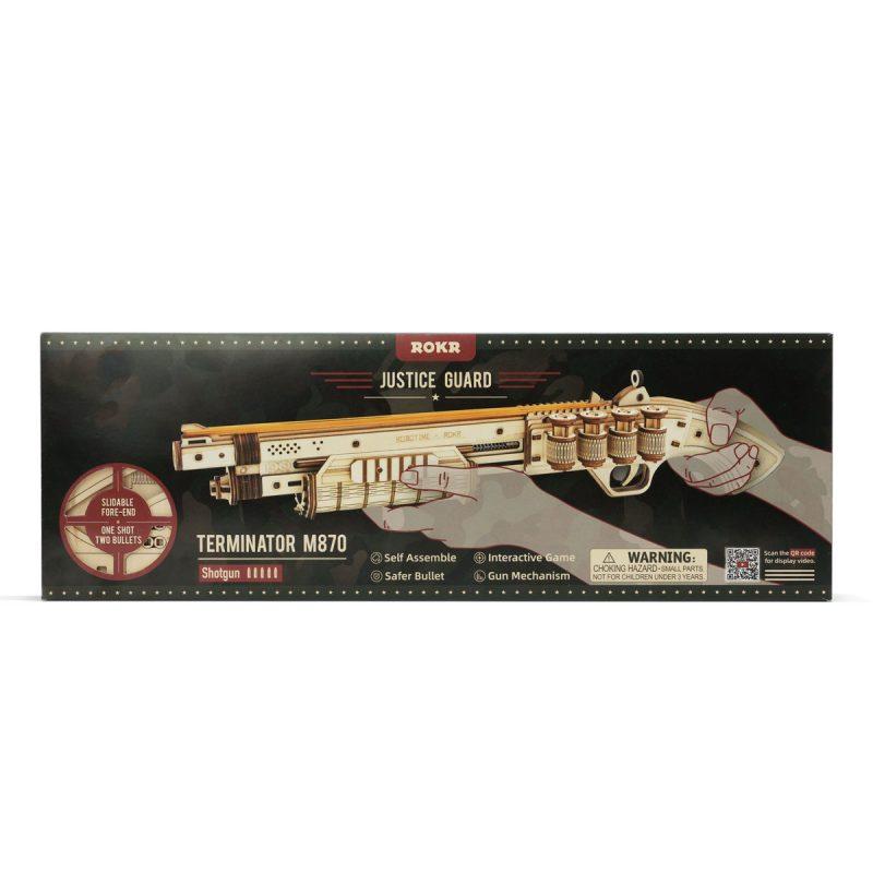 ROKR terminator m870 shotgun package-LQ501