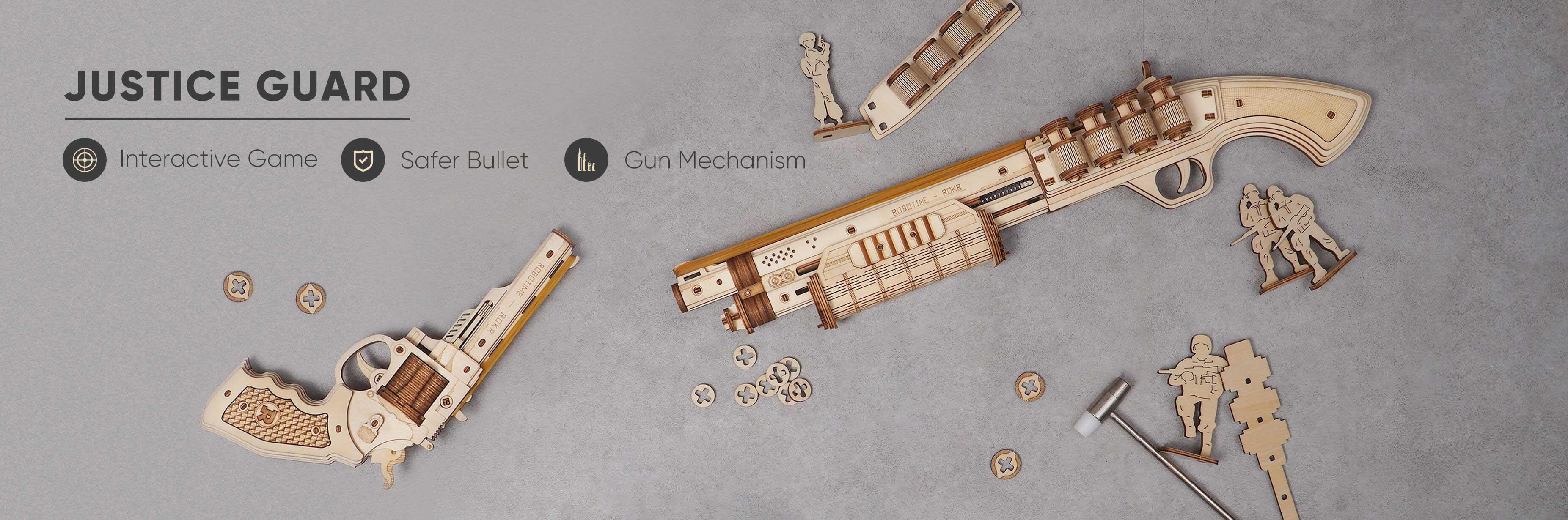 ROKR Justice Guard gun toys series