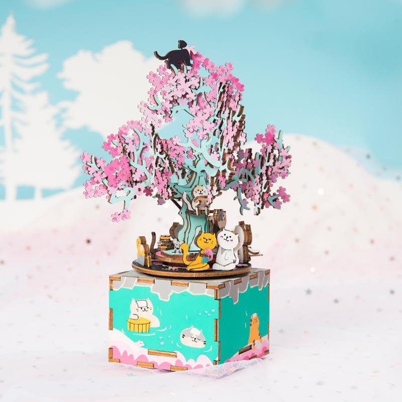 cherry blossom tree music box