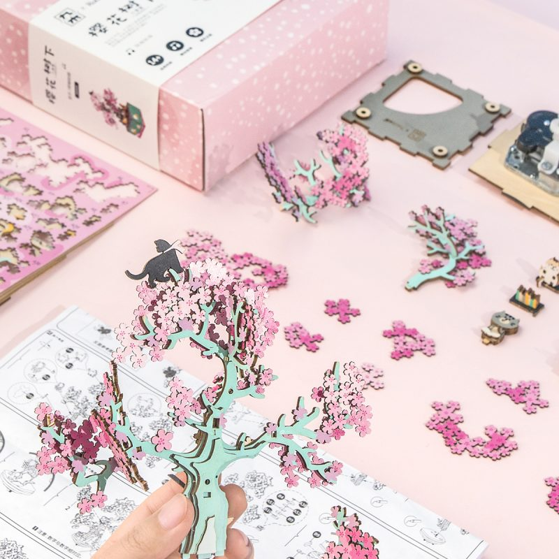 cherry blossom tree-package