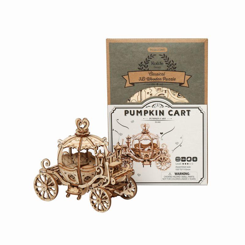 TG302 Pumpkin Cart package