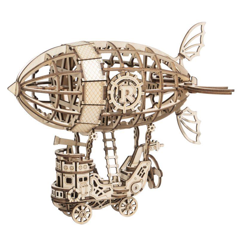TG407 Airship wooden puzzle
