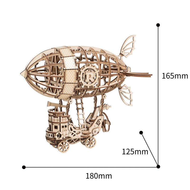 TG407 Airship model size